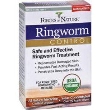 Forces of Nature Organic Ringworm Control  11 ml