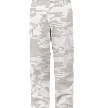Rothco Color White Camo Tactical BDU Pants
