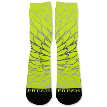 Wings 3 Custom Athletic Fresh Socks