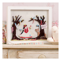 Personalised Wooden Wall Art for Child and Baby-Snow White | GWAG
