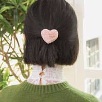 Heart Pop Pop Hair Tie