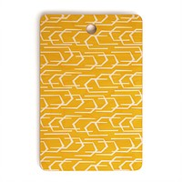 Heather Dutton Going Places Sunkissed Cutting Board Rectangle