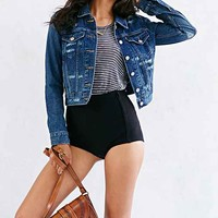 Levi's Authentic Denim Trucker Jacket- Rinsed Denim