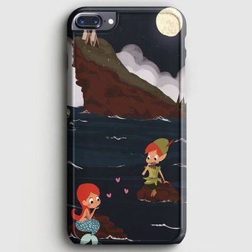 Peter Pan And Ariel Mermaid iPhone 8 Plus Case | casescraft