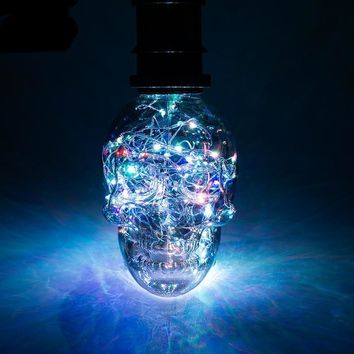 Led String Light RGB Copper Silk Lamp Skull 110V 220V