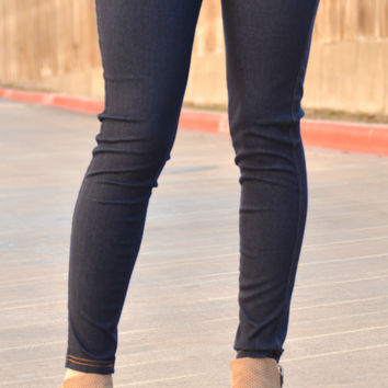JUST PERFECT JEGGING IN NAVY