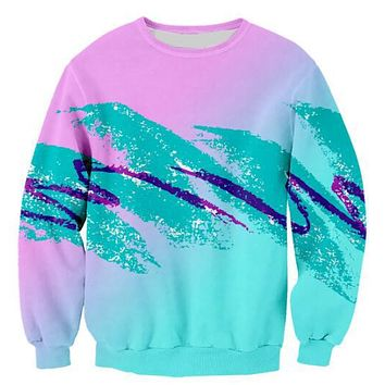 Jazz Paper Cup Sweatshirt 3D Print Hoodies Long Sleeve 90S Unisex Jumper Women/Men Pink Green Jumper Tops Tumblr Outfits S-5XL
