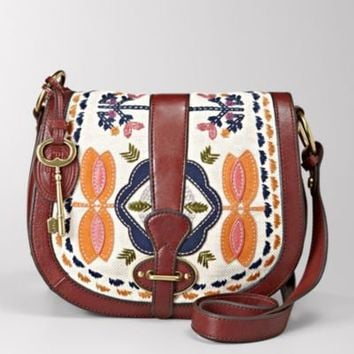 FOSSIL Handbag Silhouettes Crossbody:Handbag Silhouettes Vintage Re-Issue Flap ZB5246