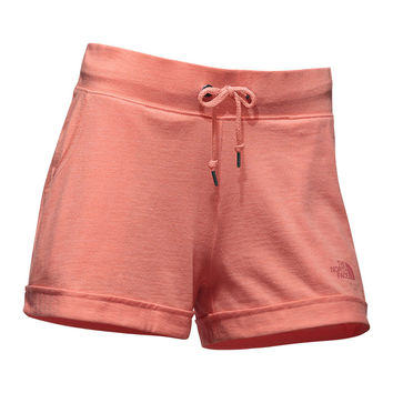 Women's Tri-Blend Short in Burnt Coral Heather by The North Face - FINAL SALE