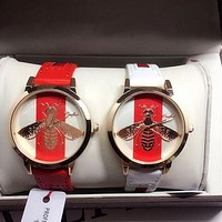 GUCCI Fashion Women Watch Little Bee Ltaly Stylish Watch I