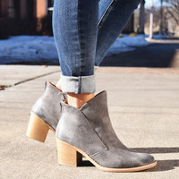 Skyline Grey Booties