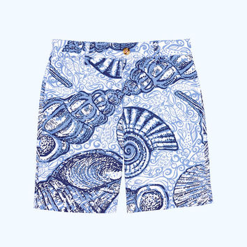 Boys Beaumont Shorts | 29581-blueperipopupstuffedshells | Lilly Pulitzer
