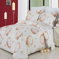 Liza 8-Piece 100% Combed cotton Bed in a bag