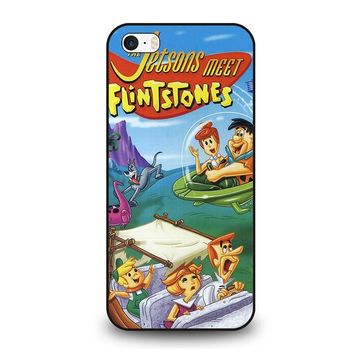 JETSONS MEET FLINTSTONES  iPhone SE Case Cover