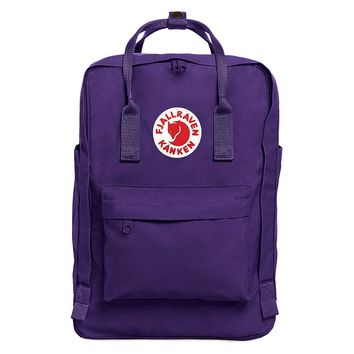 "Purple Fjallraven Kanken Laptop 15"" Backpack for Everyday"