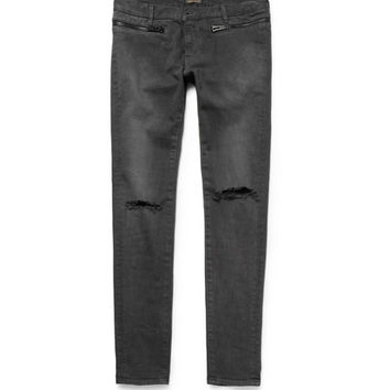 Undercover - Slim-Fit Printed Distressed Jeans | MR PORTER