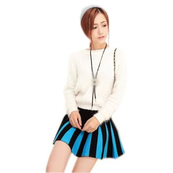 Flared Short Mini Skirt
