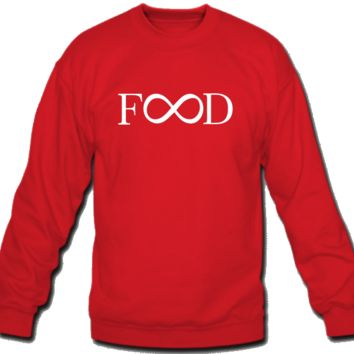 Food infiity Sweatshirt Crew Neck
