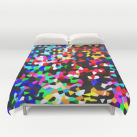 CRYSTALLISED Duvet Cover by Catspaws | Society6