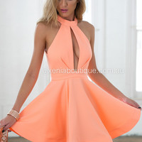 Chantilly Dress (Peach)