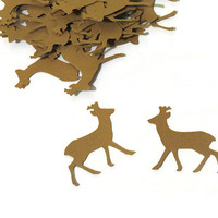 100 Deer Confetti - Woodland Wedding - Forest Animals