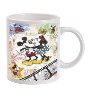 Gift Mugs | Micky And Minnie In Love Ceramic Coffee Mugs