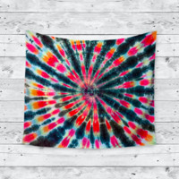 Express Yourself Tye Dye Home Decor Trendy Boho Wall Tapestry