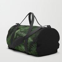 Tropical leaves 02 Duffle Bag by VanessaGF