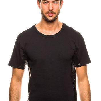 Mister Mr. Hide Black/Perforated T-Shirt