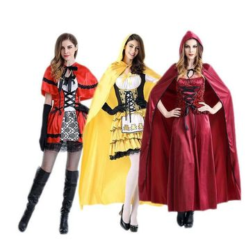 LMFON Halloween costume characters cosplay Dress fairy fairy witch role Beast [8979068615]