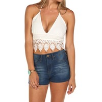 Halter Crochet Crop Top