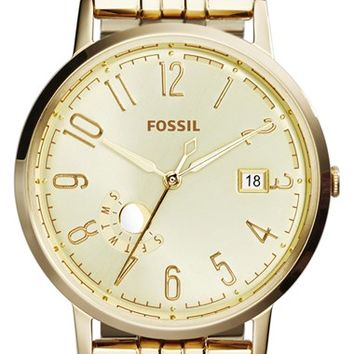 Women's Fossil 'Vintage Muse' Multifunction Bracelet Watch, 40mm