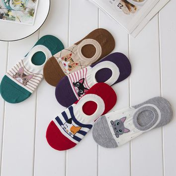 Animal Bears Rabbits Cats Socks Funny Crazy Cool Novelty Cute Fun Funky Colorful