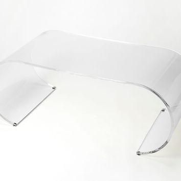 Butler Milan Arched Acrylic Coffee Table