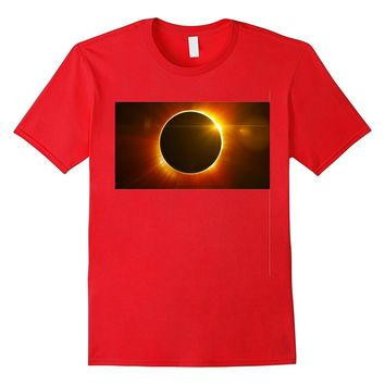 Solar Eclipse Moon Sun August 21st Blazed Sun Gift T-Shirt
