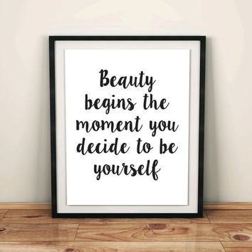 chanel bedroom room decor fashion quote fashion wall canvas watercolor fashion pictures posters for women Inspirational Quote gift for her