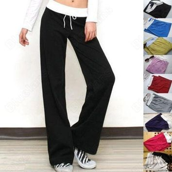 DCCKIX3 Ladies, girls and women yoga casual long pant ( Free Size ) = 1932567172