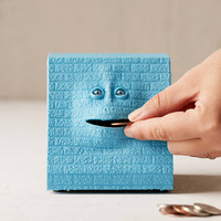 Coin Eating Face Bank   Urban Outfitters