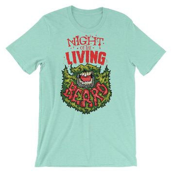 Night of The Living Beard Short-Sleeve Unisex T-Shirt