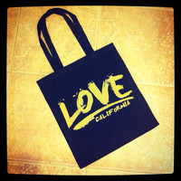 Free Love Cotton Canvas Tote December Special - Please Read Listing For Details