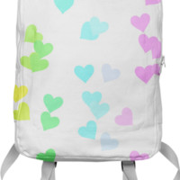 Drifting Hearts Backpack created by Christy Leigh | Print All Over Me
