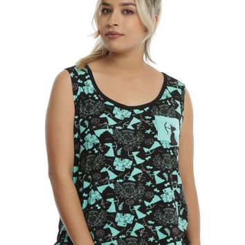 Disney Brave Pocket Girls Muscle Top Plus Size