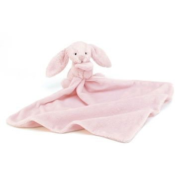 Jellycat Bashful Pink Bunny Soother 13""