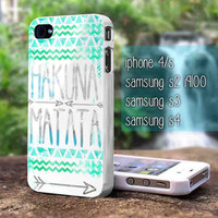 hakuna matata for iphone 4/4s case, iphone 5/5s/5c case, samsung s2 i9100,s3/s4 case cover