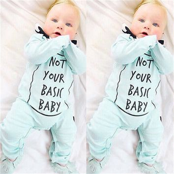 New Arrival Autumn Winter Baby Boy Girl Clothes Warm Infant Romper Jumpsuit Cotton Clothes Outfits