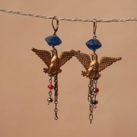 Eagle Dangle Earrings