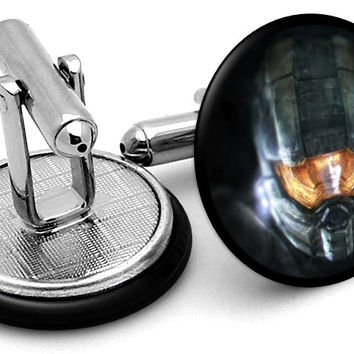 Halo Master Chief Cufflinks