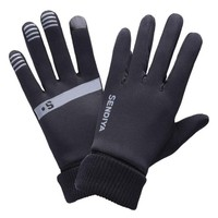 Running Gloves Women Mens Full Finger Riding Warm Gloves Knitted Fitness Glove Touch Screen Winter Cycling Glove Guantes Ciclism
