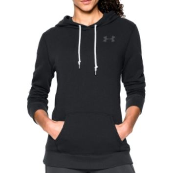 Under Armour Women's Favorite French Terry Fleece Popover Hoodie   DICK'S Sporting Goods