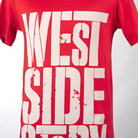 Broadway Merchandise Shop: Broadway Souvenirs and Apparel > Apparel > West Side Story Red Logo Tee
